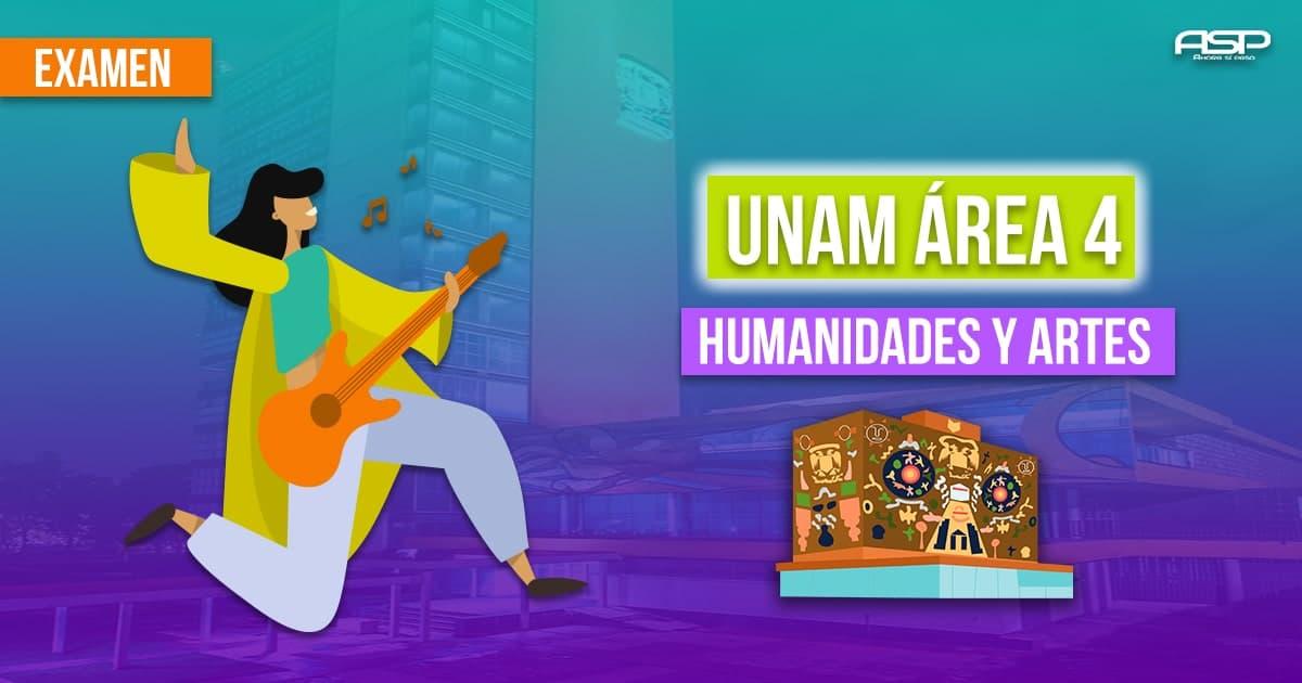Examen UNAM área humanidades y las artes